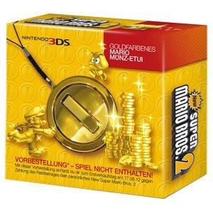 Nintendo Goldfarbenes Münzetui
