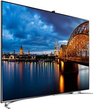 Samsung UE46F8000 46 Zoll 3D Smart LED TV mit 1000 Hz, Sprach- und Gestensteuerung für 1318,90 Euro