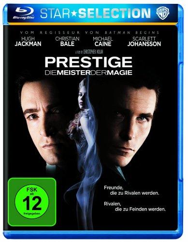 Prestige[Blu Ray]  - Duell der Magier für 7,97 oder in der 3 für 18 Aktion bei Amazon