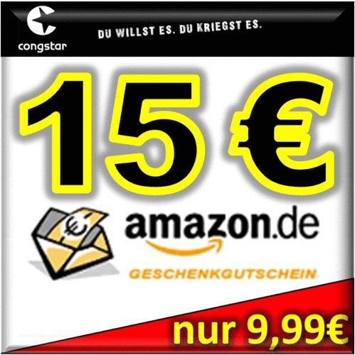 Congstar PREPAID mit 15 Euro STGH + 15 Euro Amazon GS für 9,99 EUR [wieder da - anderer Verkäufer] - NEUE LINKS IM ERSTEN BEITRAG
