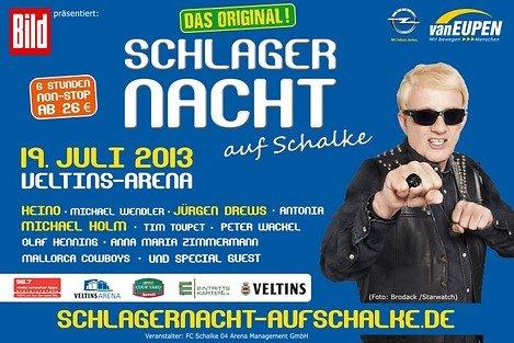 (Radio Emscher-Lippe) 76€-Unterrang-Tickets für Schlagernacht auf Schalke