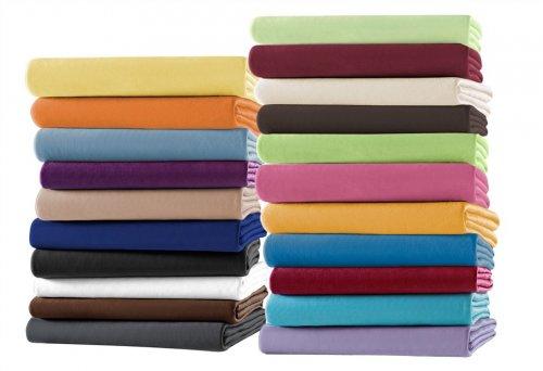 Jersey- oder Frottee Spannbettlaken verschiedene Farben 100 x 200 cm für 2,22€ Stk. + Buitoni 0,59€ Thomas Philipps