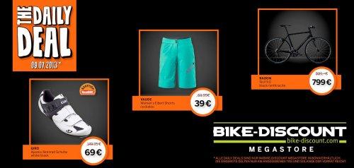 Bonn: Bike Discount Megastore - Täglich wechselnde Deals