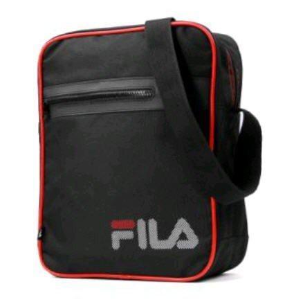 Fila Umhängetasche Schwarz für 13€ @Dailydeal