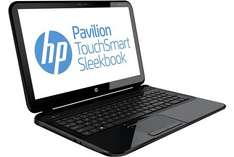 "HP™ - 15.6"" Notebook ""Pavilion TouchSmart 15-b105sg"" (i5-3337U 2x1.80GHz,Multi-Touch HD Display,4GB RAM,500GB HDD,USB3.0,HD4000,Win 8) ab €482,23 [@HP.de]"