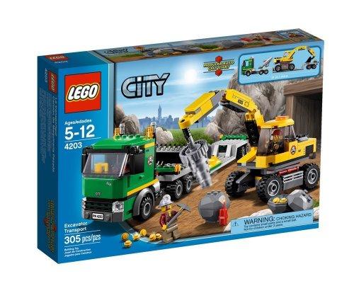 """Lego™ - """"City: Grubenbagger mit Transporter"""" (4203) ab €11,78 [@MeinPaket.de]"""