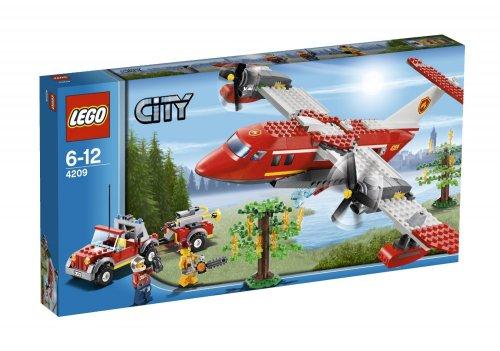 """Lego™ - """"City: Feuerwehr-Löschflugzeug"""" (4209) ab €12,56 [@MeinPaket.de]"""