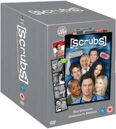 Scrubs Season 1-9 [DVD] (The Ultimate Collector's Edition) @ Amazon.co.uk