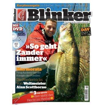 Für alle Angler ein super Angebot  Zeitschrift Blinker für 50 % gunstiger bei einen jahres abo nur für 30.99 im jahr