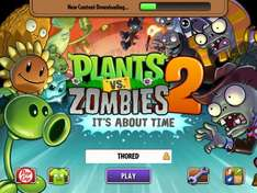 (iOS Game) PlantsVsZombies2 for free auch in D