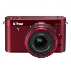 Nikon 1 J2 + 1 NIKKOR 11-27,5mm Rot Systemkamera 199,00€ Angebot