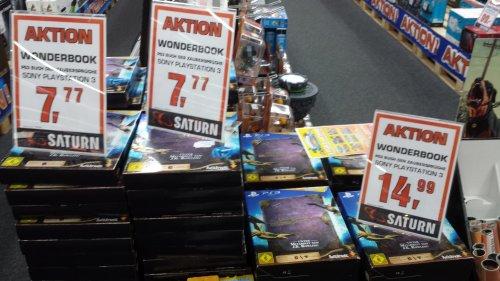 [Lokal Darmstadt] PS3 Wonderbook für 7,77€ // mit Kamera + Move Controller für 14,99€ im Saturn