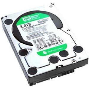 Western Digital WD20EARX Green 2TB interne Festplatte 8,9 cm 3.5 Zoll 5400 RPM