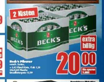 [LOKAL-Aurich] 10% auf alles z.B 2 Kisten Becks für 16,20€  @ E-Center Dreekamp