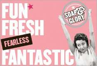 [online] Soap&Glory bei Douglas teilw. 50% reduziert