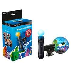 SONY PlayStation 3 Move Starter Pack PS3 für 30€ @Real