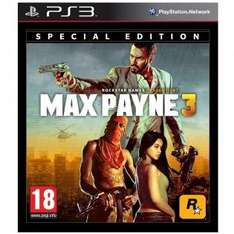 PS3 Max Payne 3 -UNCUT- (Special Edition -PEGI 18) für 30€ @Redcoon