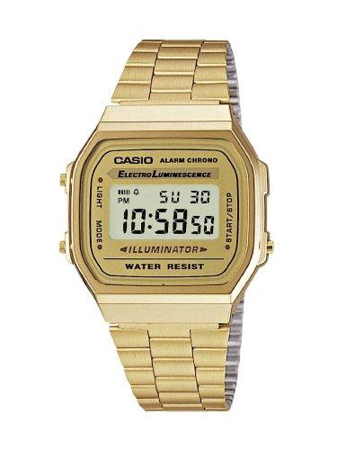 Casio Collection A168WG-9EF Gold ( Nur für Leute die den Newsletter Gutschein noch nicht eingelöst haben)