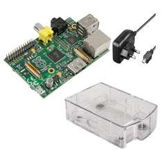 Raspberry Pi Foundation Raspberry Pi Model B (512MB) inkl. Gehäuse