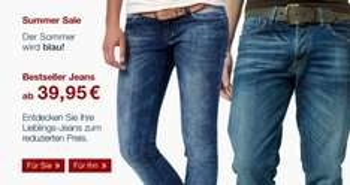 "Jeans ""Denim/Tom Tailor"" ab 40€"