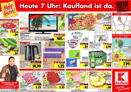 Kaufland Neueröffnung Wilhelmshaven - u.a. Jever Pils 7,92 Euro - Havanna 7,99 Euro ...
