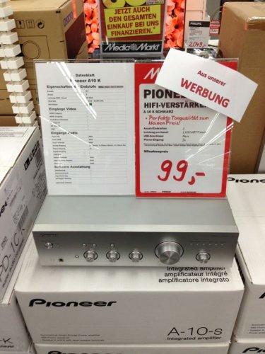 [Lokal MM Dorsten] Pioneer A-10-S Stereo-Verstärker