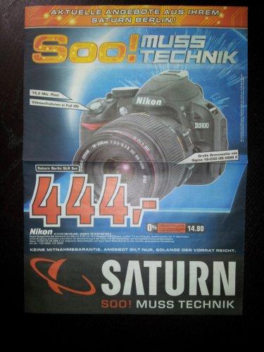 [LOKAL?] Nikon D3100 Kit mit Sigma 18-200mm DC OS II @Saturn Berlin
