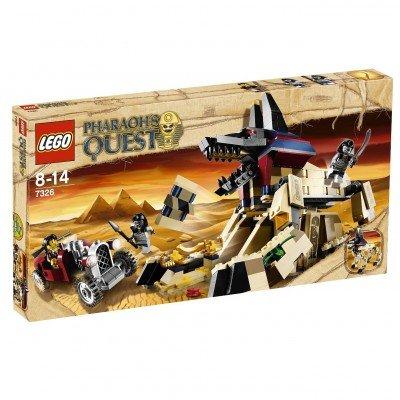 LEGO 7326 Pharaoh's Quest - Geheimnisvolle Sphinx, 527 Teile für 11,99 € @Brandlet