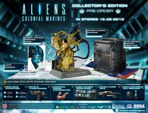 XBox360/PS3 - Aliens Colonial Marines (Collector's Edition) für €21,85 [@Amazon.co.uk]