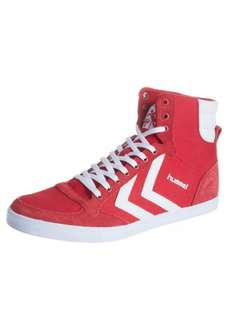 [Zalando]  Hummel SLIMMER - Sneaker high - ribbon red/white für 33,95€ und SLIMMER STADIL RETRO HIGH limoges blue/red für 34,95€