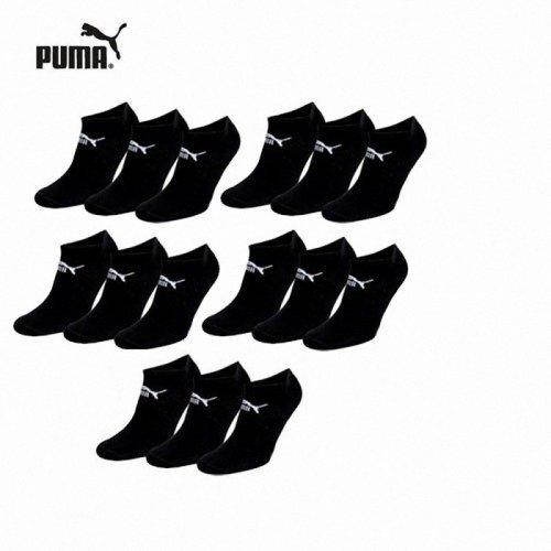 15 Paar Puma Sneaker Socken schwarz für 24,95€