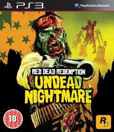 Red Dead Redemption: Undead Nightmare PS3 für 11,59€ @Zavvi