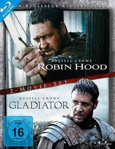 [Amazon Blitzangebot] Robin Hood / Gladiator (Director's Cut / Extended Edition, 2 Discs) [Blu-ray]