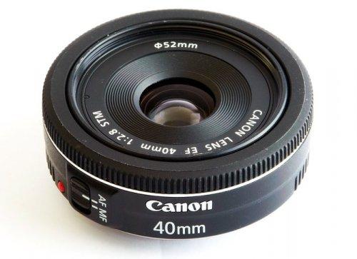 Canon EF 40mm 1:2.8 STM für 169€ – 50€ Cashback