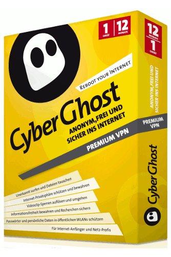 Cyberghost VPN 5 - ohne Surf-Limit - 1 Jahr [Computerbild CD oder DVD] für ab 2,90€
