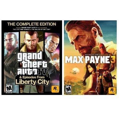 Grand Theft Auto IV Complete und Max Payne 3 Complete für zusammen 13€ - PC