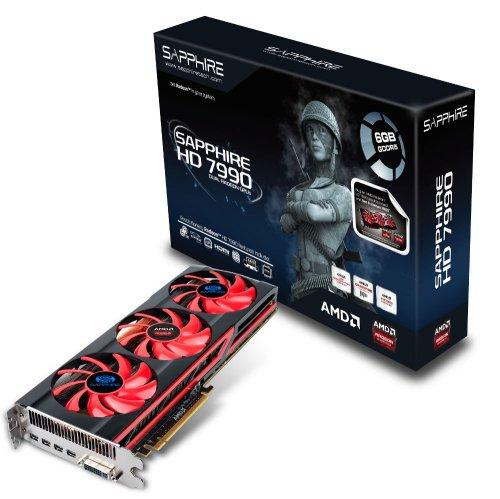 Sapphire Radeon HD 7990 PCIe 3.0 x16 Retail @Ebay
