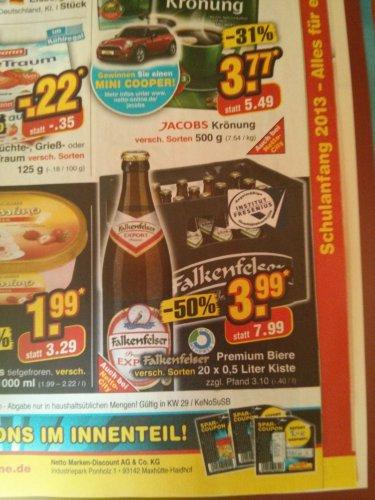 Falkenfelser Bier 20x0,5 L