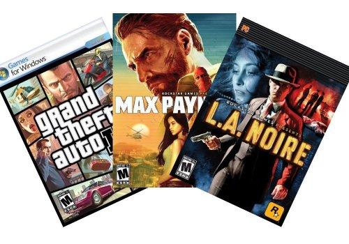 [Max Payne 3/LA Noire/Grand Theft Auto IV] für 13€ @Amazon.com