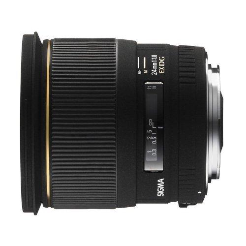 Sigma 24mm F1,8 EX DG ASPH Macro [Sony] für  421,38 € @Amazon.fr