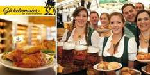 [Stuttgart Volksfest]Tischreservierung für 10 Personen inkl. 10 Maß und 10 halbe Göckele ab 108€ statt 176€ im Festzelt Göckelesmaier
