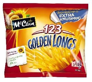 123 McCain Golden Longs - Pommes Frittes - 1 kg. nur  1,49 EUR statt 3,19 EUR.