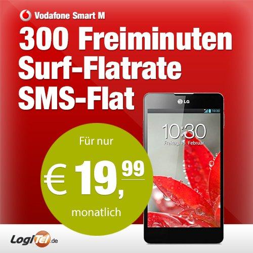 LG Optimus G E975 mit Vodafone Smart m (19,99€ monatl.) @ ebay/logitel