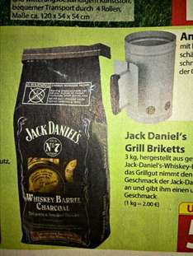 [Famila Nordost] Jack Daniel's Grill Brickets