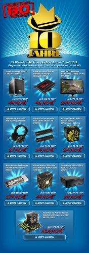 Caseking Geburtstag die 7.: Bitfenix Prodigy 54,89€ - Akasa Venom Voodoo 28,89€ - CM Silent Pro Gold 550W 54,89€ - uvm.