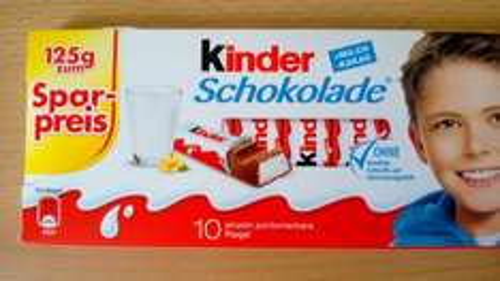 125 g Kinderschokolade für 77 Ct bei Penny