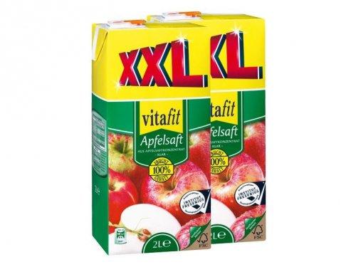 [offline] Vitafit Apfelsaft 2 Liter für 0,99 € bei Lidl