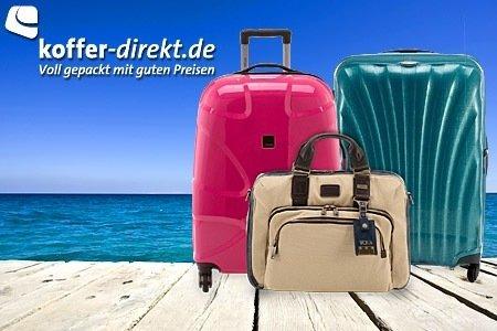 Mit 52% Rabatt & VSK-frei bei koffer-direkt.de bestellen durch Groupon-Gutschein