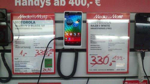 Lokal Media Markt München - Razr i für 199€