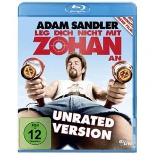 Leg dich nicht mit Zohan an (Unrated Version) [Blu-ray] für 8€ @Redcoon